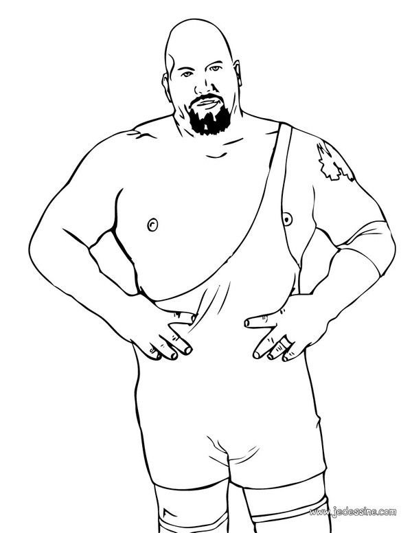 COLORIAGE WWE