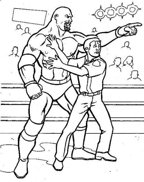 Coloriage wwe page 2 - Coloriage wwe ...