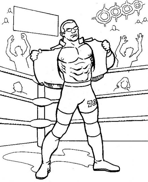 coloriage wwe - Page 2