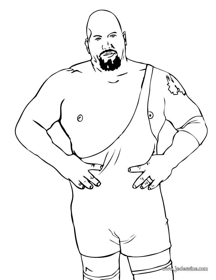 Free Coloring Pages Of Coloriage Randy Orton Randy Orton Coloring Pages